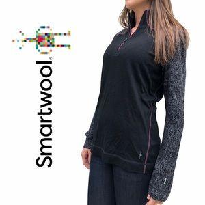 Smartwool- Long sleeve, 1/4 Zip  Baselayer